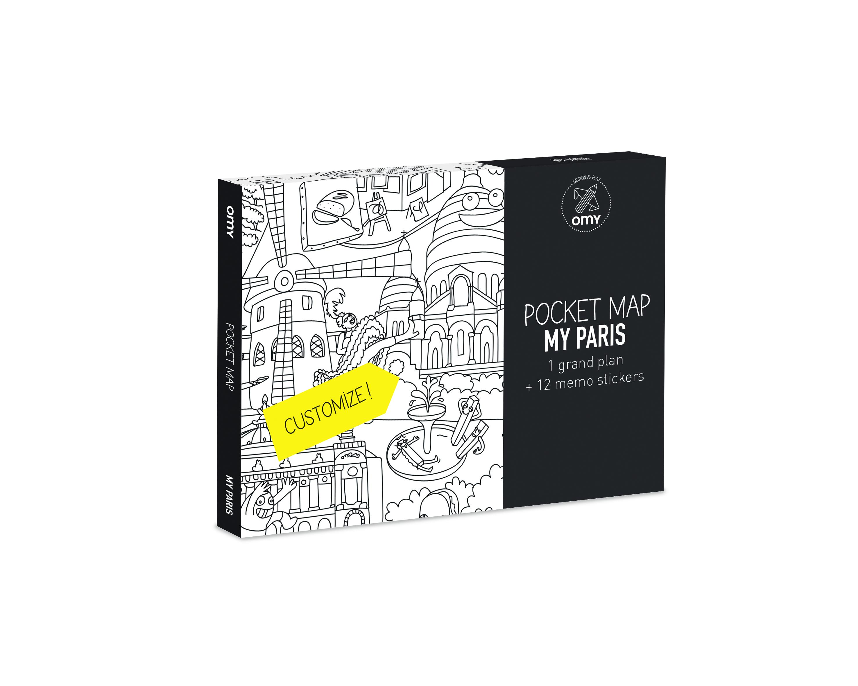 100 poster paris xxl plan de one voice europa. Black Bedroom Furniture Sets. Home Design Ideas