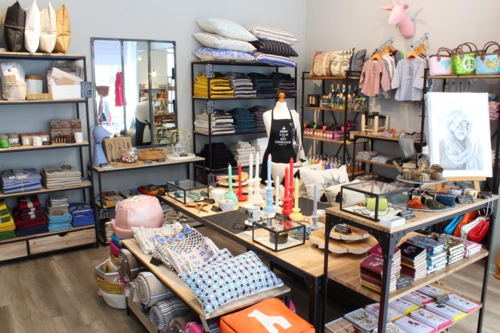 Intérieur de la boutique Bazaristain