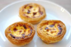 Pasteis de Nata de la boutique Comme  à Lisbonne, 2€ pièce