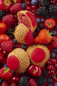 Choux fruits rouges Popelini