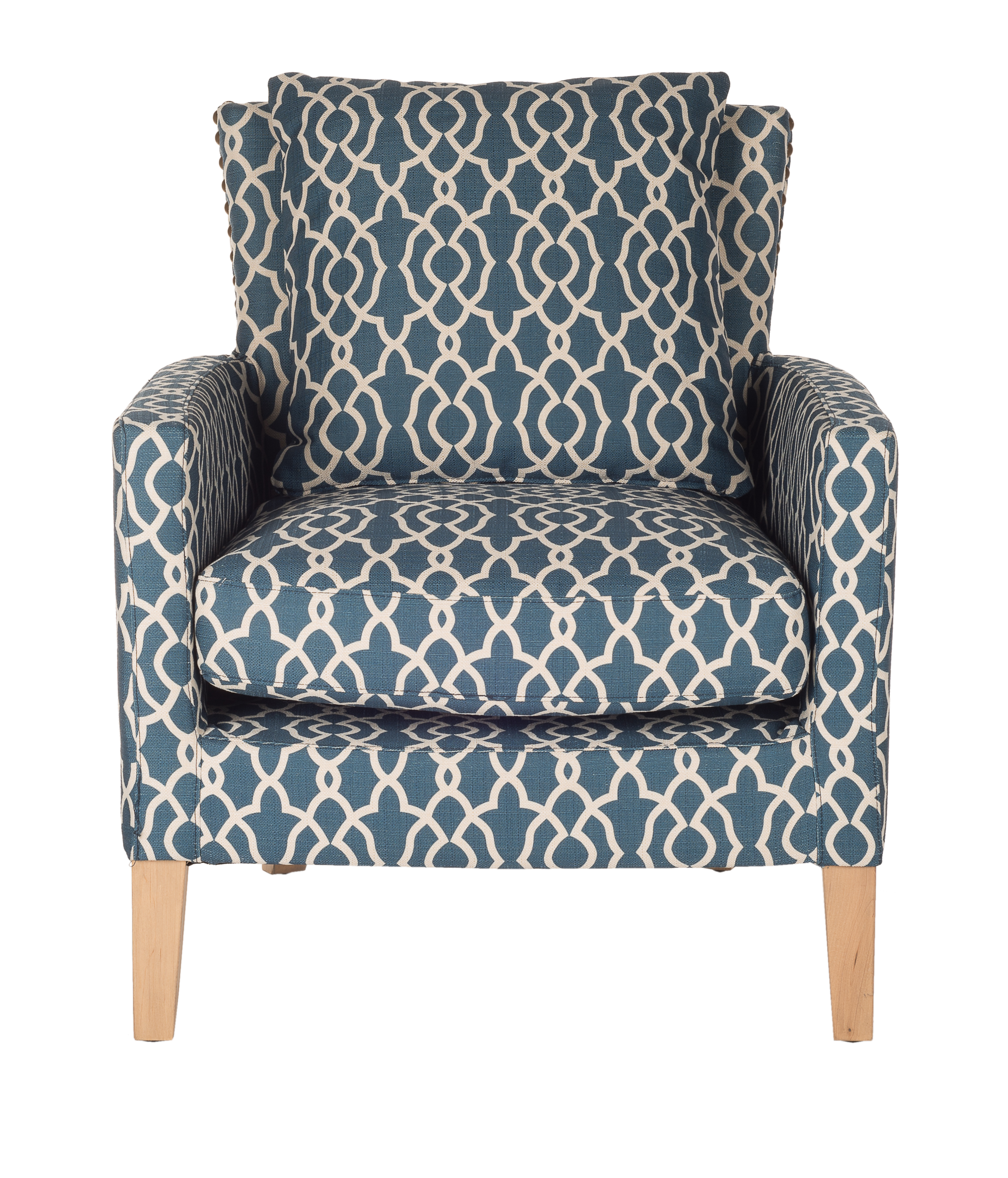 Dream in blue lifestyle paris - Fauteuil tissu imprime ...