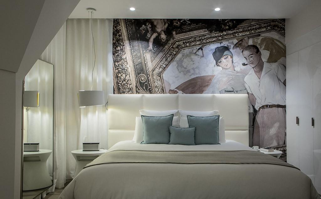 Une chambre de l'hôtel des Cures Marines