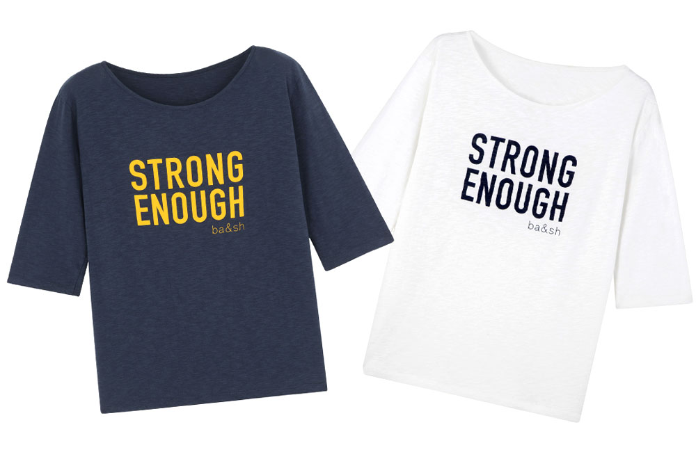 Tee-shirt Ba&sh - Strong enough