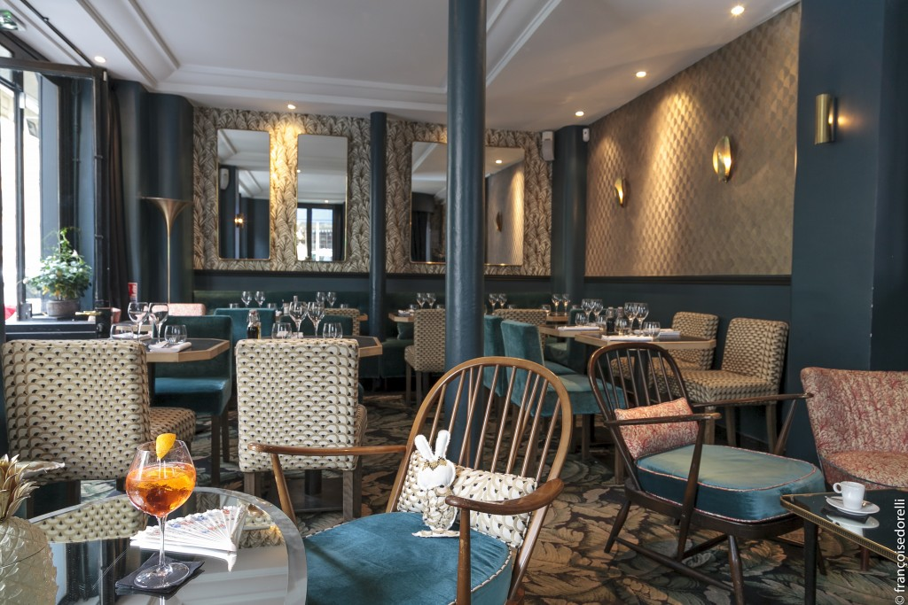 La Gazette : boudoir chic gastronomique