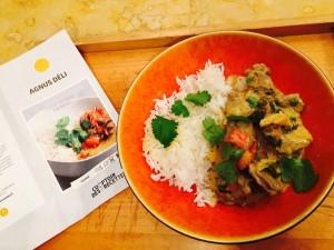 Curry D'agneau du Comptoir des recettes, produit final, fidèle à la promesse et à la photo