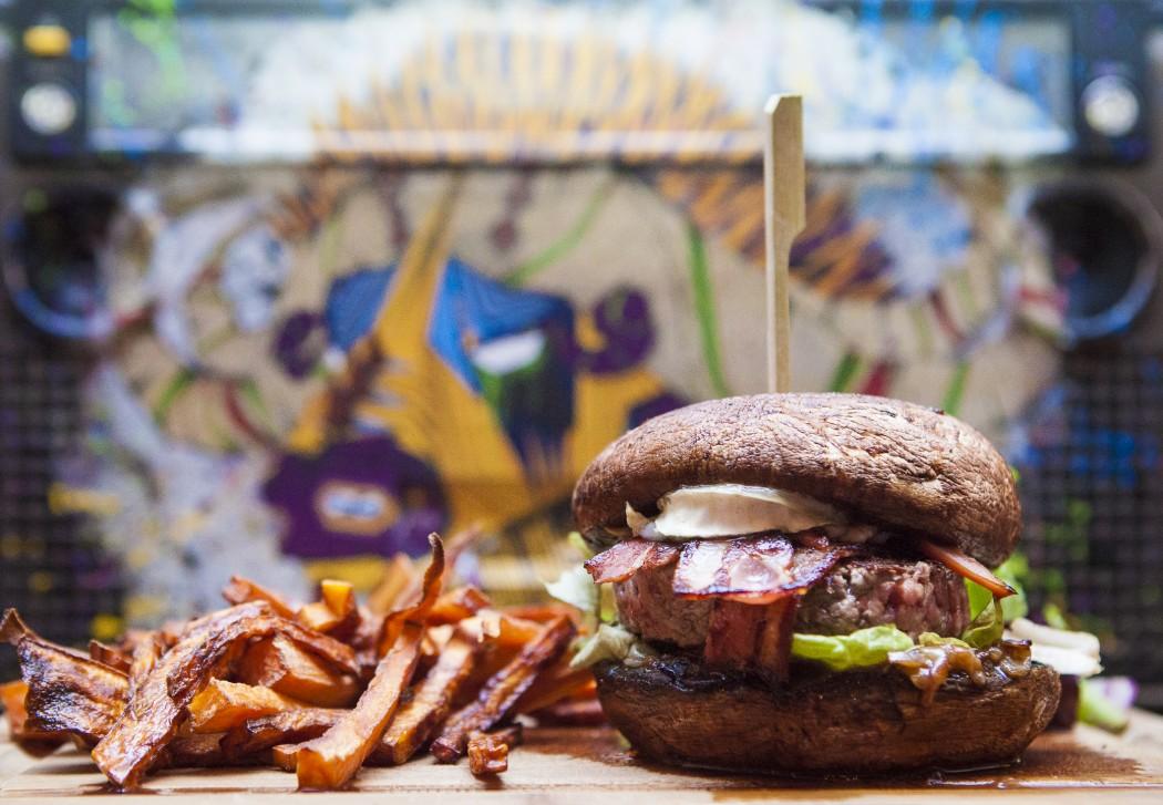 Viandu veggie healthy le burger à toutes les sauces chez b boyz