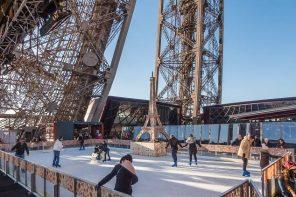 Où rouler des patins ( à glace ) à Paris ?