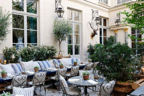 La chance d'être seuls à Parisen août!
