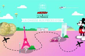 Une chasse aux Pièces d'or à la Monnaie de Paris avec Mickey