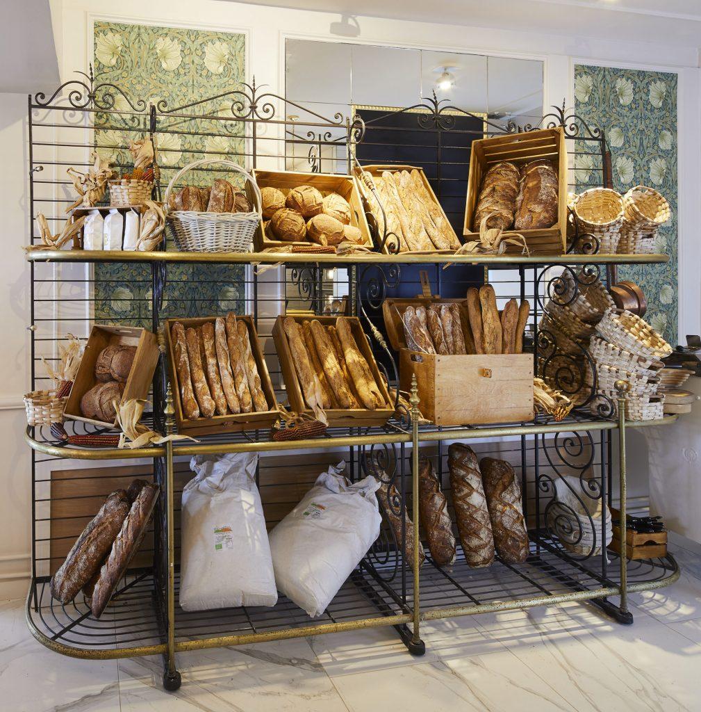 Le pain et les baguettes de la boulangerie Boulom