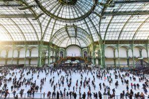 Les patinoires éphémères de l'hiver à Paris